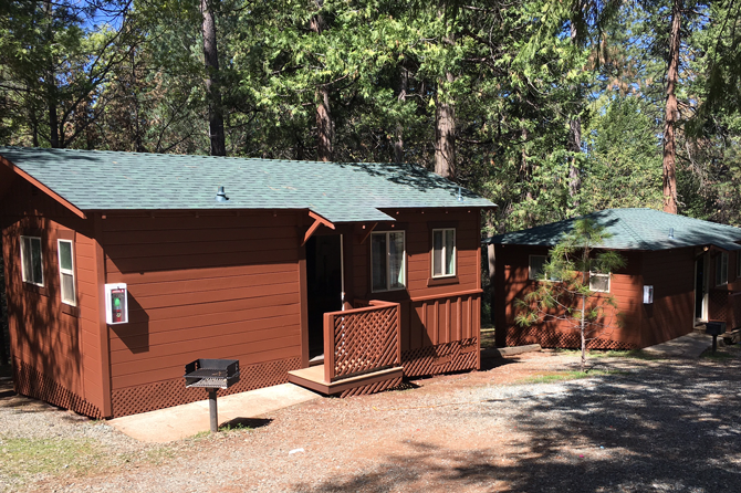 Gold Country Campground Cabins