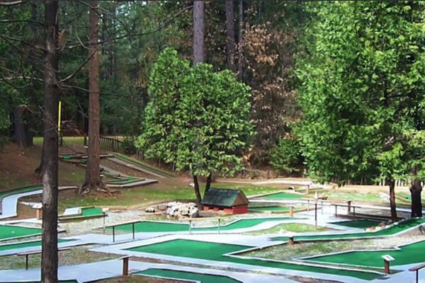 Mini-golf and Camping | Gold Country Mini-Golf Course